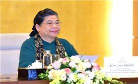 Phó Chủ tịch Quốc hội Tòng Thị Phóng chủ trì họp Đoàn Việt Nam dự Đại hội đồng AIPA 41