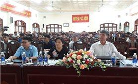 Bắc Kạn: Hội nghị phổ biến, giáo dục pháp luật tại huyện Pác Nặm