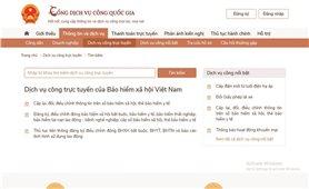 Bảo hiểm xã hội Việt Nam: Đẩy mạnh triển khai các dịch vụ công trực tuyến