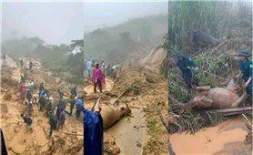 Sạt lở ở huyện biên giới Kỳ Sơn, một bản bị cô lập hoàn toàn
