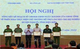 Hỗ trợ làm nhà cho hộ nghèo tại huyện Nậm Pồ, Điện Biên