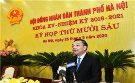 Đồng chí Chu Ngọc Anh giữ chức Chủ tịch UBND TP. Hà Nội