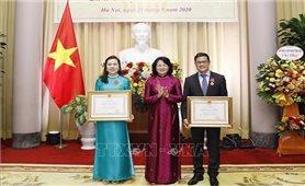 Phó Chủ tịch nước dự Đại hội Thi đua yêu nước Văn phòng Chủ tịch nước