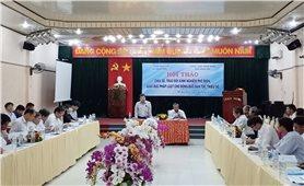 Ủy ban Dân tộc: Trao đổi kinh nghiệm phổ biến, giáo dục pháp luật vùng đồng bào DTTS