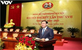 Đại hội đại biểu Đảng bộ TP Hà Nội lần thứ XVII họp phiên trù bị
