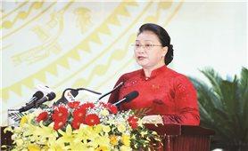 Chủ tịch Quốc hội Nguyễn Thị Kim Ngân dự Đại hội đại biểu Đảng bộ tỉnh Khánh Hòa lần thứ XVIII nhiệm kỳ 2020 - 2025