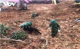 Đã tìm thấy 22 thi thể cán bộ, chiến sỹ Đoàn KTQP 337 tử nạn do sạt lở núi