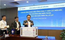 Tổng Công ty Điện lực miền Bắc: Chung tay ủng hộ đồng bào miền Trung khắc phục hậu quả lũ lụt