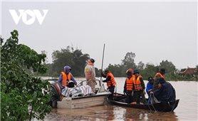 Hàng nghìn hộ dân vùng lũ ở Nghệ An di dời đến nơi an toàn