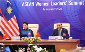 """Lãnh đạo các nước ASEAN khẳng định phụ nữ đang là """"anh hùng thầm lặng"""""""
