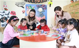 Tiến tới phổ cập giáo dục mầm non cho trẻ 4 tuổi