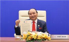 """Thủ tướng Nguyễn Xuân Phúc: Cùng biến tầm nhìn, ước vọng thành """"trái ngọt"""" hòa bình, hạnh phúc"""