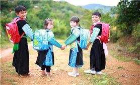 Đa dạng hình thức tăng cường tiếng Việt cho trẻ mầm non dân tộc thiểu số