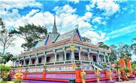 Độc đáo kiến trúc chùa Chén Kiểu ở Sóc Trăng