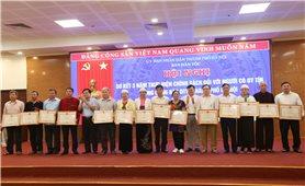 Ban Dân tộc TP. Hà Nội: Sơ kết 3 năm thực hiện chính sách đối với Người có uy tín