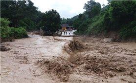 Đề phòng mưa, lũ trên các sông từ Quảng Bình đến Khánh Hòa và khu vực Tây Nguyên
