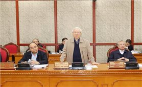 Tổng Bí thư, Chủ tịch nước Nguyễn Phú Trọng: Tiếp thu các ý kiến xác đáng, hoàn thiện dự thảo các văn kiện Đại hội XIII của Đảng