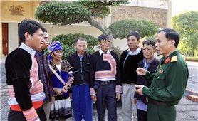 Đoàn Kinh tế-Quốc phòng 356: Phát huy vai trò của già làng, trưởng bản trong khu kinh tế, quốc phòng