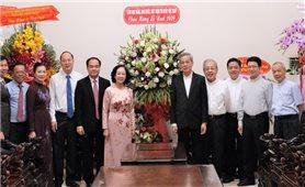 Đồng chí Trương Thị Mai thăm, chúc mừng Giáng sinh tại TP. Hồ Chí Minh và Đồng Nai