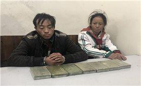 Bắt 2 đối tượng vận chuyển 7 bánh heroin, 200 viên ma túy ở Sơn La