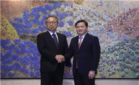 Đại sứ Nhật Bản tại Việt Nam tiếp và làm việc với ngân hàng TMCP Công Thương Việt Nam ( Vietinbank)