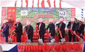 Khởi công dự án giao thông kết nối tỉnh lộ 152 với cao tốc Nội Bài - Lào Cai