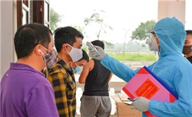 Cách ly, theo dõi các trường hợp từng tiếp xúc với F1 ở Hương Sơn (Hà Tĩnh)