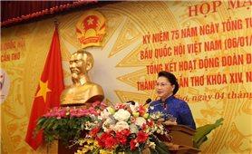 Chủ tịch Quốc hội Nguyễn Thị Kim Ngân dự Họp mặt Kỷ niệm 75 năm Ngày Tổng tuyển cử đầu tiên