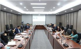 Ủy ban Dân tộc làm việc với Ngân hàng Thế giới về khoản tín dụng ưu đãi bổ sung cho triển khai thực hiện Chương trình mục tiêu quốc gia