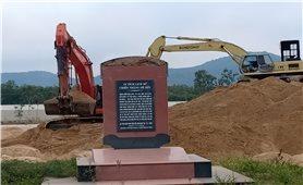 """Thị xã Hoài Nhơn (Bình Định): Núi cát """"đè"""" di tích lịch sử"""