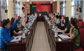 Ủy ban Mặt trận tổ quốc Việt Nam huyện Ba Vì (Hà Nội): Hoàn thành tốt Hội nghị hiệp thương lần thứ 3