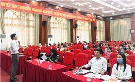 Hội Liên hiệp phụ nữ Hà Nội: Tổ chức Hội nghị tuyên truyền phổ biến về Luật Bầu cử