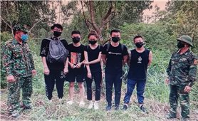 Quảng Bình: 9 người Trung Quốc nhập cảnh trái phép âm tính lần 1 với SARS – COV-2