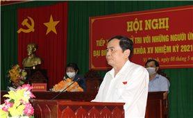 UBMTTQ Việt Nam tỉnh Hậu Giang tổ chức gặp gỡ, tiếp xúc cử tri với ứng cử viên ĐBQH khóa XV