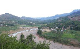 Sông Đa Krông mùa nước cạn