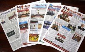 Truyền thông Lào đưa tin đậm nét Đại hội XIII Đảng Cộng sản Việt Nam