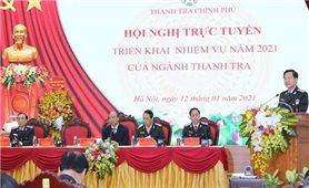 Thủ tướng Nguyễn Xuân Phúc dự Hội nghị triển khai nhiệm vụ năm 2021 ngành Thanh tra