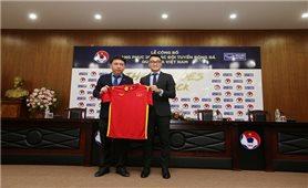Công bố trang phục mới cho đội tuyển bóng đá quốc gia