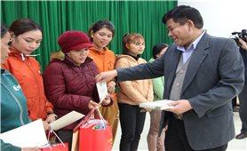 Thứ trưởng, Phó Chủ nhiệm Y Thông: Thăm và chúc Tết đồng bào DTTS tỉnh Bình Định