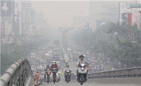 Chất lượng không khí Hà Nội chuyển đỏ, mức cảnh báo ảnh hưởng tới sức khỏe