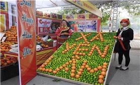 Hội chợ OCOP Tuyên Quang 2021 - Công bố chỉ dẫn địa lý cam sành Hàm Yên