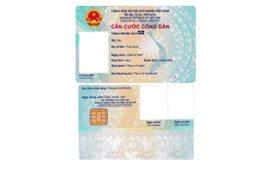 Bộ Công an chính thức công bố mẫu thẻ căn cước công dân gắn chíp