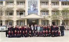 Thứ trưởng, Phó Chủ nhiệm Nông Quốc Tuấn thăm, chúc Tết tại Cao Bằng