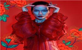 Bộ ảnh Tết Tân Sửu tôn vinh tranh dân gian Đông Hồ của Hoa hậu H'Hen Niê