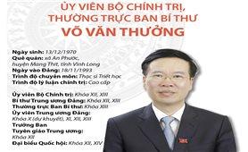 Ủy viên Bộ Chính trị, Thường trực Ban Bí thư Võ Văn Thưởng