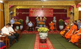 Phó Thủ tướng Trương Hòa Bình chúc Tết chư tăng, phật tử Khmer