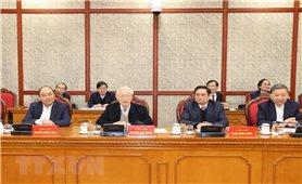 Tổng Bí thư, Chủ tịch nước Nguyễn Phú Trọng chủ trì phiên họp đầu tiên của Bộ Chính trị, Ban Bí thư