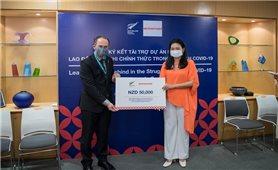 New Zealand tặng gần 800 triệu đồng giúp lao động nữ Việt Nam vượt qua đại dịch