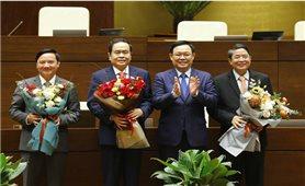 Quốc hội có 3 tân Phó Chủ tịch