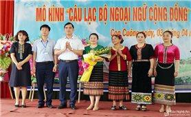 Nghệ An lần đầu tiên ra mắt Câu lạc bộ Ngoại ngữ cộng đồng